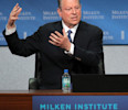 Former U.S. Vice President Al Gore speaks at the Milken Institute Global Conference in Beverly Hills, California.