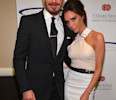 David Beckham and Victoria Beckham arrive at the 27th Anniversary Sports Spectacular benefiting Cedars-Sinai Medical Genetics Institute at the Hyatt Regency Century Plaza in Century City, Calif. on ...