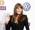 France's former First Lady Carla Bruni -Sarkozy arrives for Echo Music Awards ceremony in Berlin
