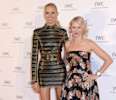 "DISTRIBUTED FOR IWC - Model Karolina Kurkova (L) and actress Naomi Watts attend the exclusive ""For The Love Of Cinema"" event hosted by Swiss luxury watch manufacturer IWC Schaffhausen at the Hotel ..."