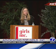 Chelsea Clinton advocates for Girls Inc.