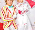 Anna Nicole Smith 's Daughter Dannielynn, Dad Larry Birkhead Dress in Mary Poppins Costumes for Kentucky Derby