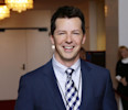 FILE - This Oct. 22, 2012 file photo shows actor Sean Hayes poseing for photographers at the 15th annual Mark Twain Prize for American Humor at the Kennedy Center in Washington. Hayes, Parker Posey ...
