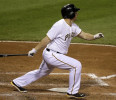 Pittsburgh Pirates ' Travis Snider hits a grand slam off Chicago Cubs relief pitcher Shawn Camp during the sixth inning of a baseball game in Pittsburgh Tuesday, May 21, 2013