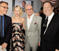 "DISTRIBUTED FOR IWC - (L-R) Actors Christoph Waltz, Naomi Watts , IWC CEO Georges Kern and film producer Harvey Weinstein attend the exclusive ""For The Love Of Cinema"" event hosted by Swiss luxury ..."