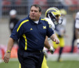 Michigan 's Brady Hoke: Notre Dame 'chickening out'