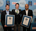 Mohegan Sun and Bally Technologies, Inc. Break Two World Records in One Day