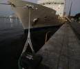 Japanese ship Yokosuka is seen at Rio de Janeiro&#39;s port after an expedition in Rio de Janeiro