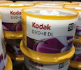 DVD &#39;s by Eastman Kodak Co are displayed in a retail store in San Diego, California