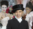 FILE - In this Jan. 25, 2010 file photo, fashion designer John Galliano poses at the end of the presentation of the Dior Haute Couture spring/summer 2010 fashion collection in Paris. Galliano is ...