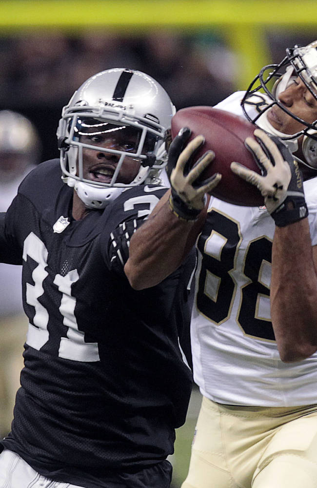 Saints' first team sharp in 28-20 win over Raiders