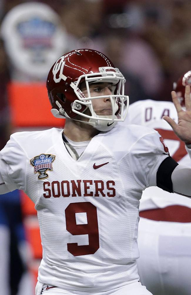 Oklahoma beats Alabama 45-31 in Sugar Bowl