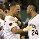 Pirates rally to beat Braves 3-2 The Associated Press