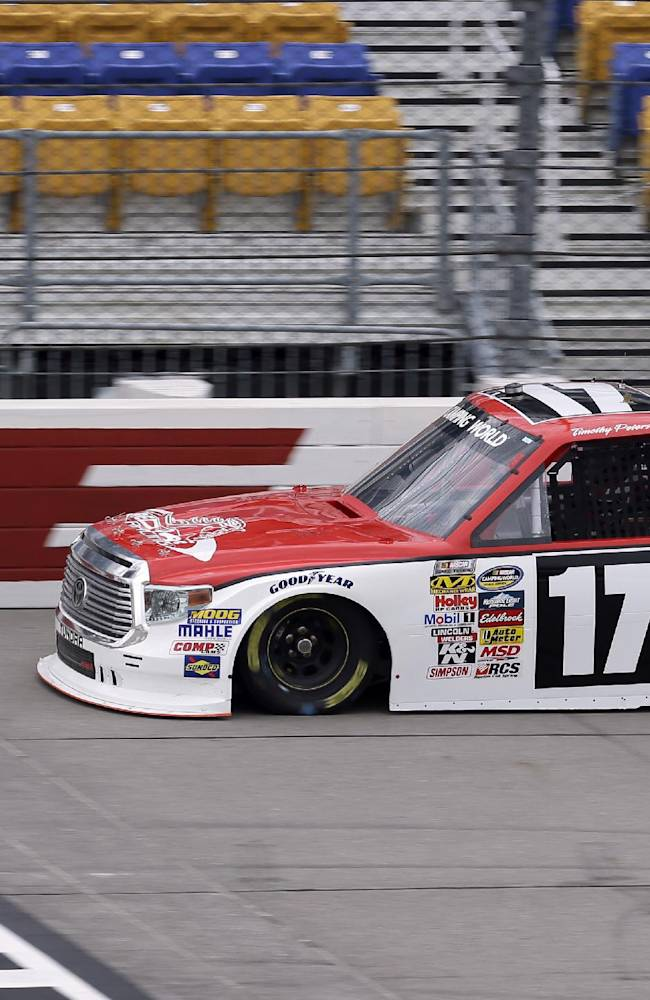 Erik Jones wins NASCAR trucks race in Iowa