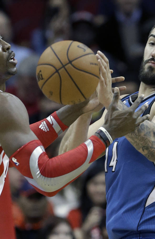 Brooks leads Rockets over Timberwolves, 112-101