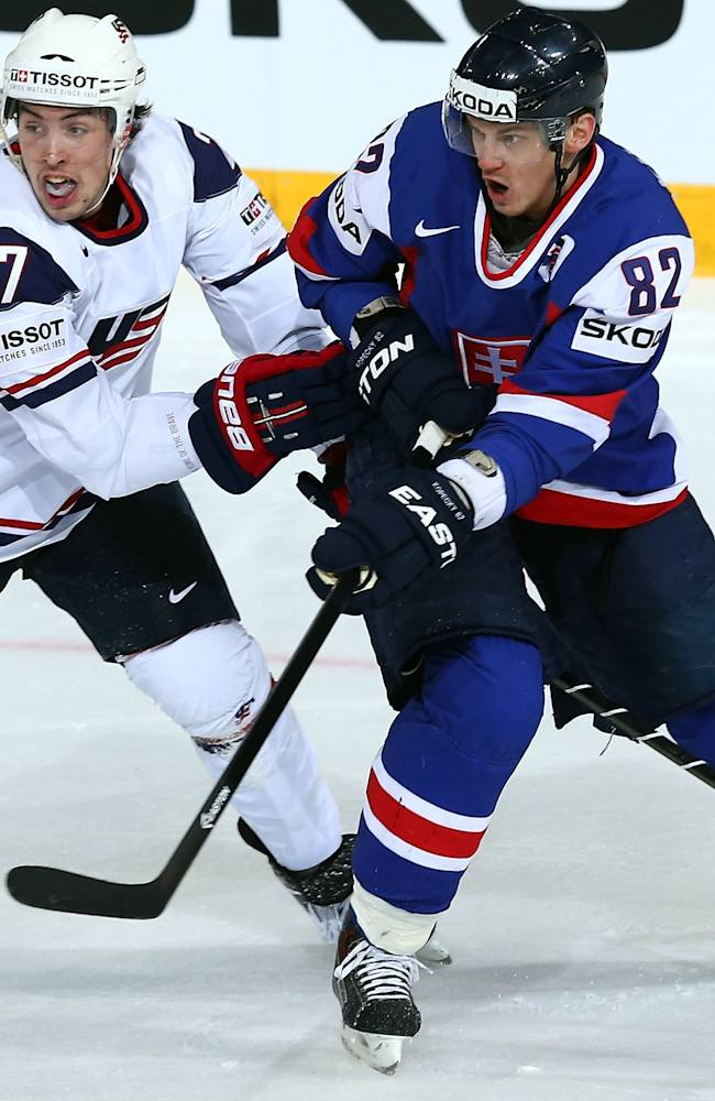 Slovakia v USA - 2013 IIHF Ice Hockey World Championship