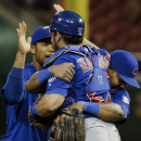 Teagarden's hit leads Cubs to 6-5 win over Reds and DH split The Associated Press