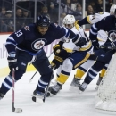 Jets use power play to beat Predators 3-1 The Associated Press