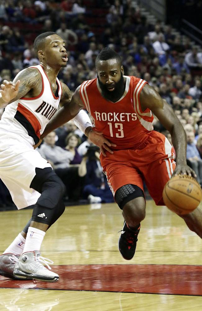 Harden and Howard lift Rockets over Blazers