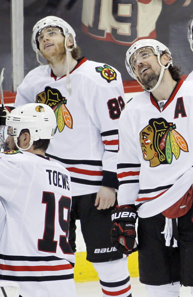 Blackhawks hope to get Shaw back in next series