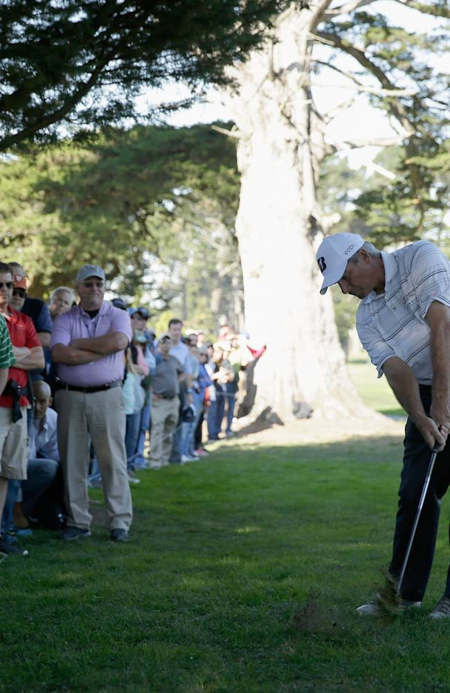 Charles Schwab Cup Championship - Round Two