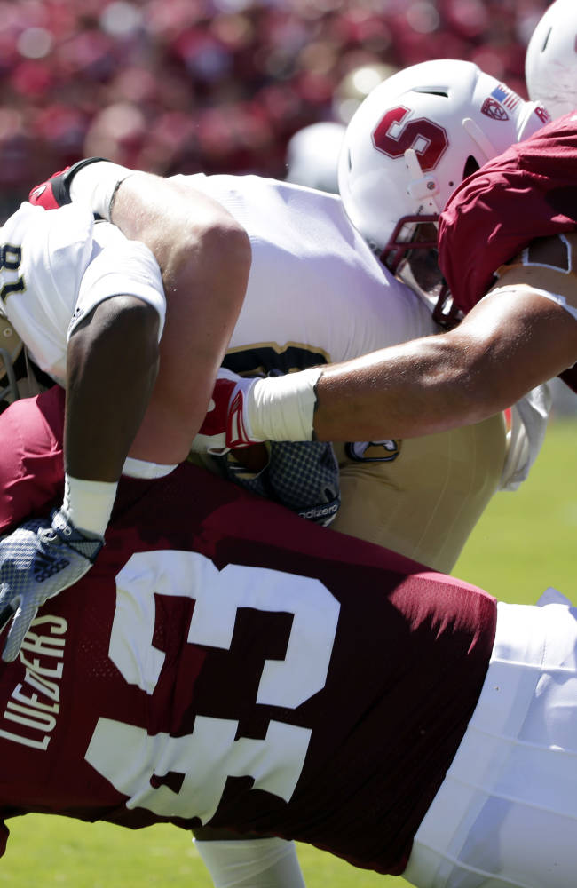 No. 11 Stanford routs UC Davis 45-0 in opener