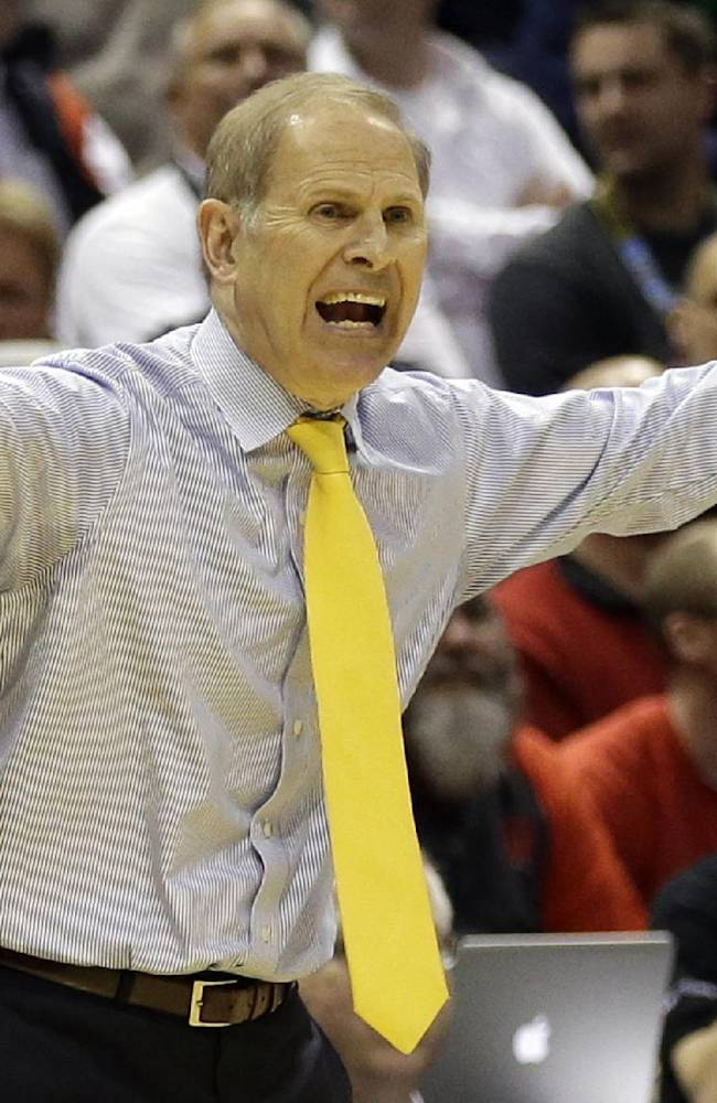 Michigan's Beilein regrets he didn't serve country