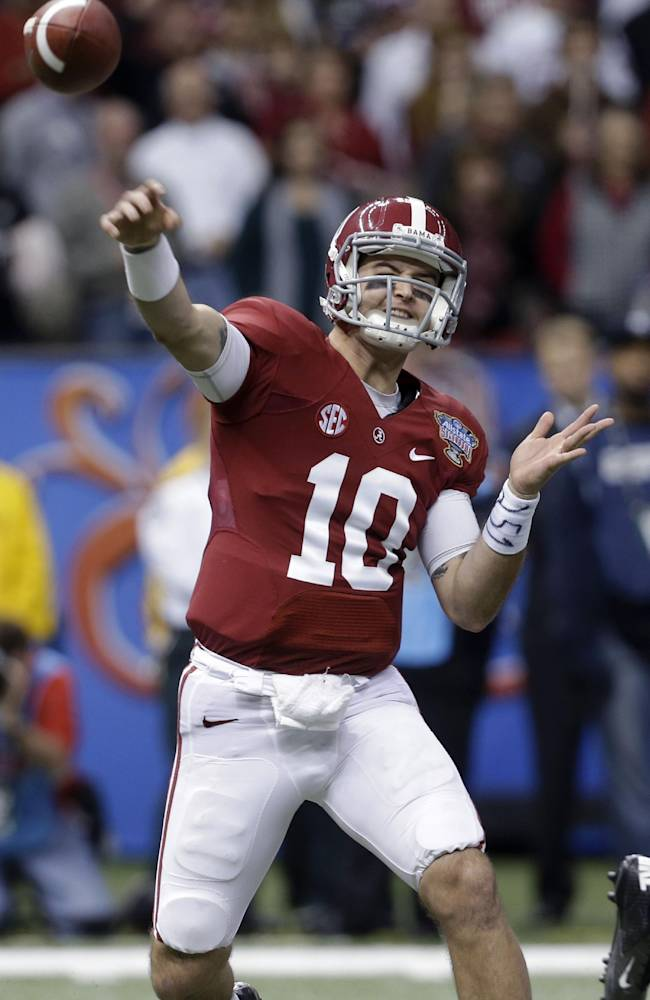 Bama still loaded, but shed aura of invincibility