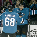 Pavelski Leads Sharks To 5-2 Win Over Oilers