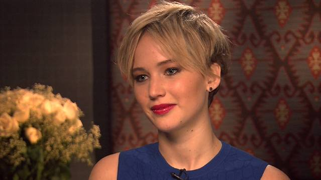 Jennifer Lawrence Takes On 'American Hustle'