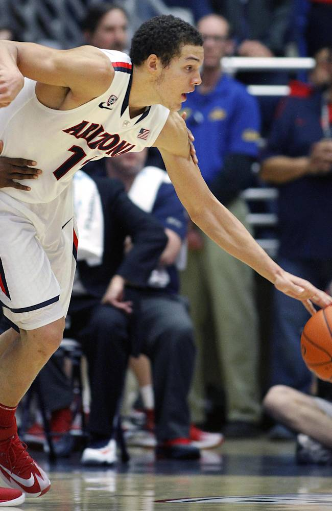No. 1 Arizona on a big roll