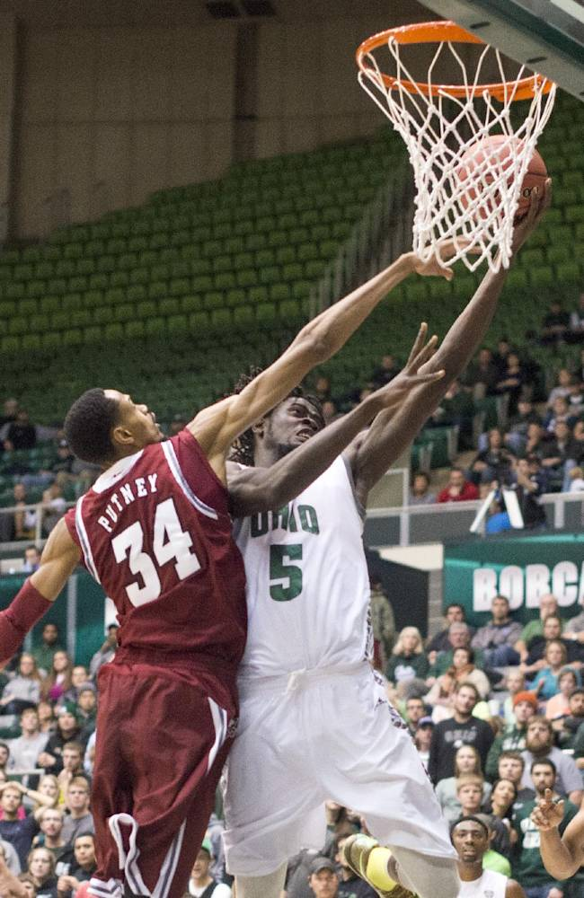 No. 22 UMass beats Ohio 83-71
