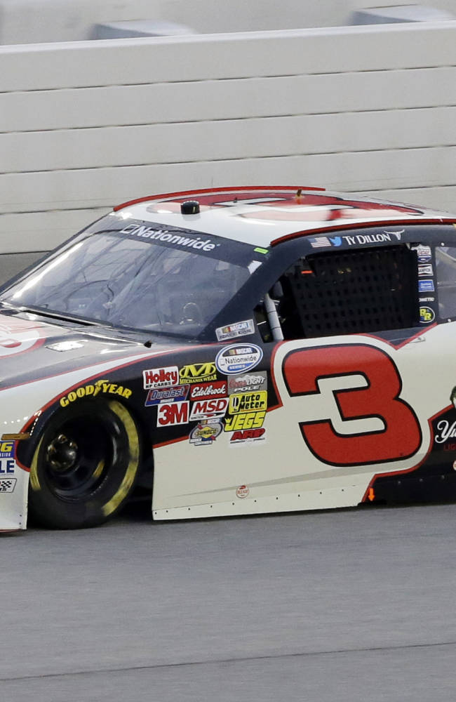 Ty Dillon races to 1st career Nationwide win