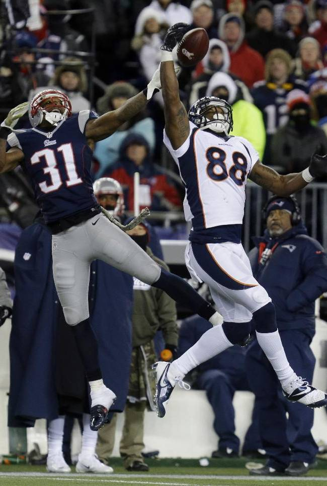 Pats top Broncos 34-31 in OT in game of turnovers