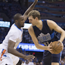 Dallas Mavericks v Oklahoma City Thunder - Game One Getty Images