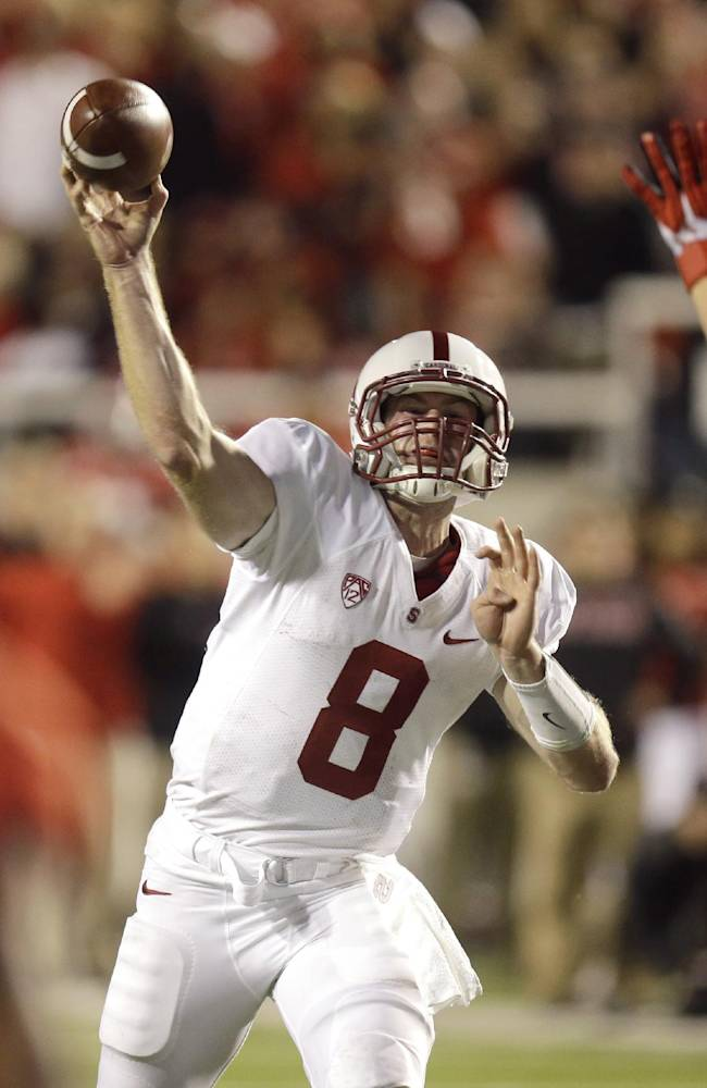 No. 13 Stanford trying to regroup for No. 9 UCLA