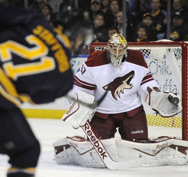 Pysyk lifts Sabres to 2-1 OT win over Coyotes