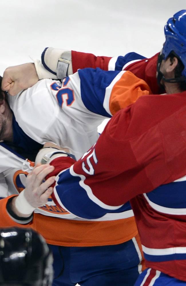 Nabokov earns shutout as Isles top Canadiens 2-0