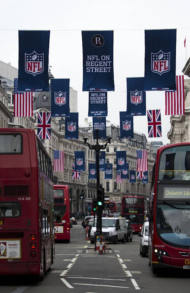 Sputtering Vikings hope losing will stop in London