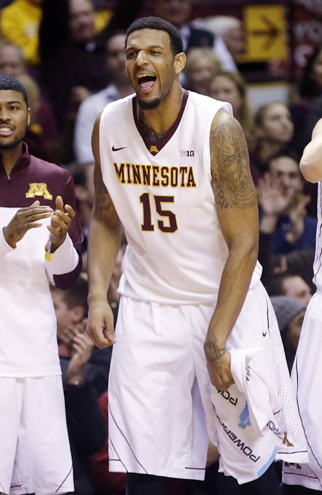 Minnesota muscles past No. 11 Ohio State 63-53