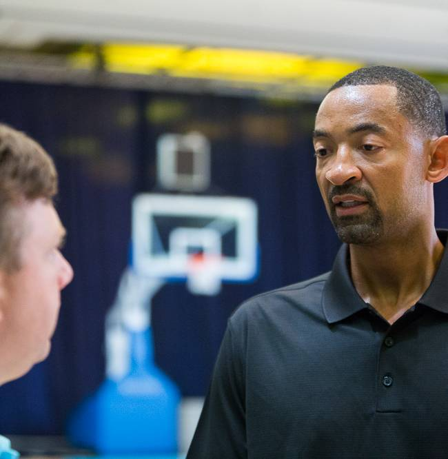 Juwan Howard transitions to a coach with Heat