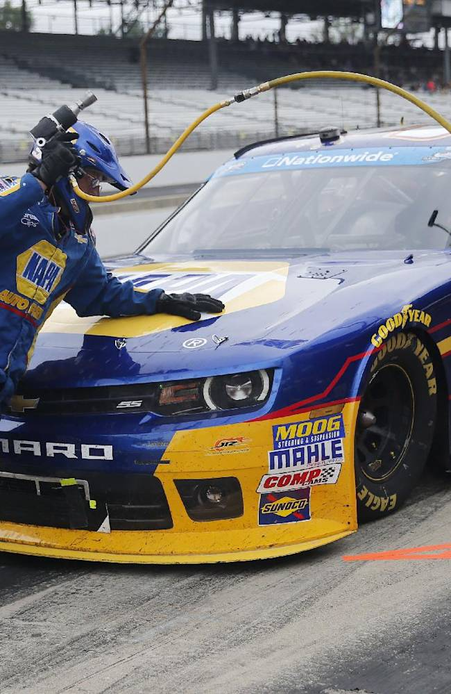 Elliott looking to maintain NASCAR Nationwide lead
