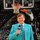 SAN ANTONIO, TX - MARCH 6: Reporter Craig Sager before a game against the San Antonio Spurs and Miami Heat at the AT&T Center March 6, 2014 in San Antonio, Texas. (Photo by Jesse D. Garrabrant/NBAE via Getty Images)