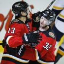 Flames score 3 in 3rd to rally past Predators 4-3 The Associated Press