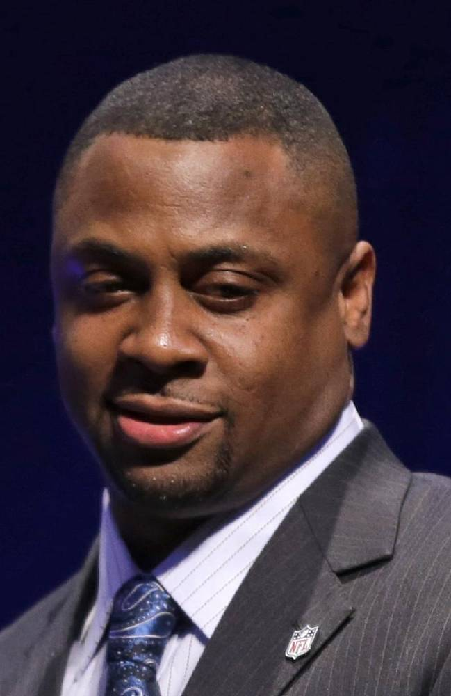This is a Jan. 31, 2014 file photo showing former NFL football player Troy Vincent at a news conference in New York.Vincent has been promoted to executive vice president of football operations for the league. Commissioner Roger Goodell also appointed Dave Gardi to senior vice president of football operations. The moves were announced Wednesday, March 19, 2014