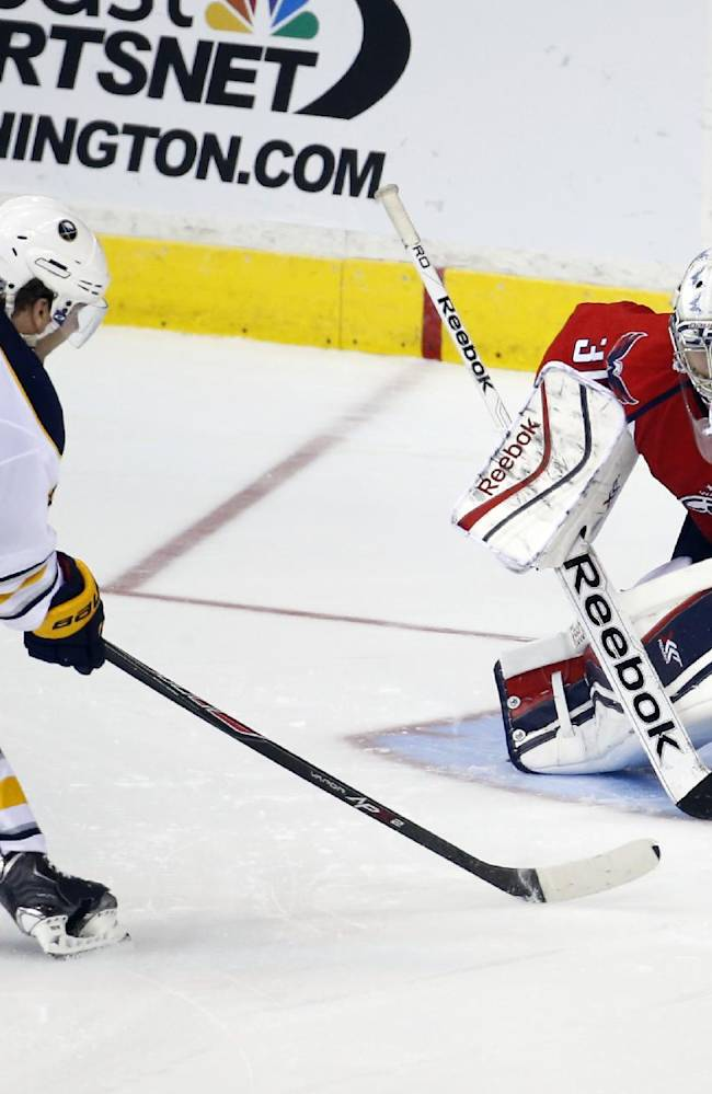 Sabres end road skid, top Capitals 2-1 in shootout