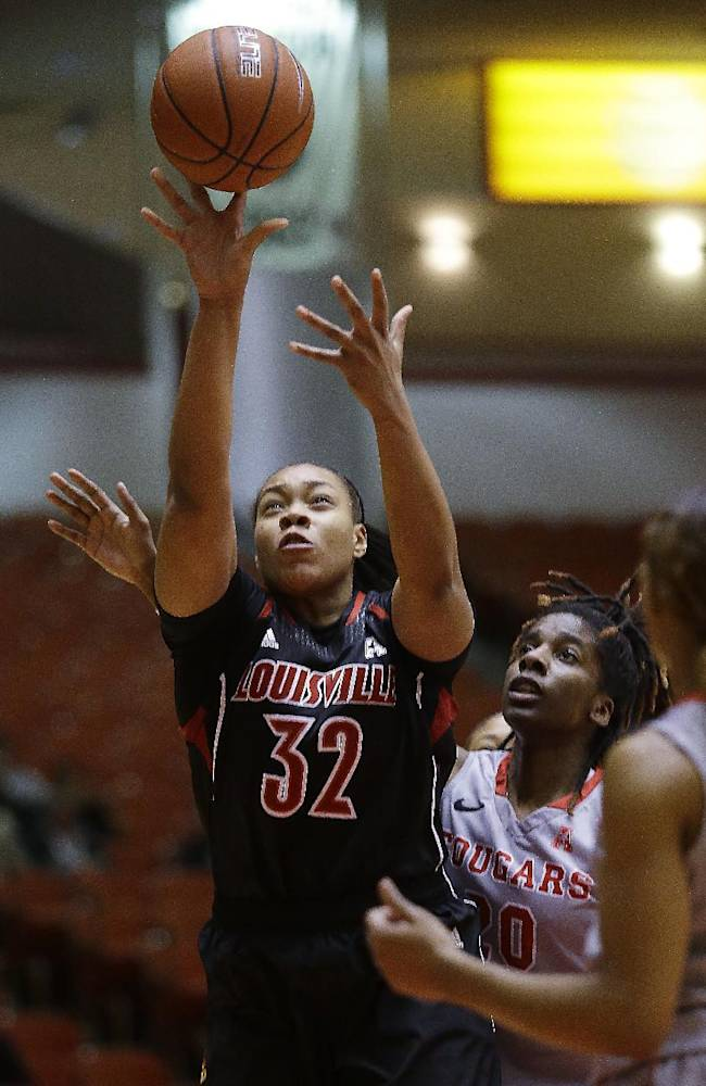Schimmel helps No. 5 Louisville women rout Houston