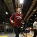 CLEVELAND, OH - MAY 4: Mike Miller #18 of the Cleveland Cavaliers arrives at the arena before a game against the Chicago Bulls in Game One of the Eastern Conference Semifinals of the NBA Playoffs at The Quicken Loans Arena on May 4, 2015 in Cleveland, Ohio. (Photo by Gregory Shamus/NBAE via Getty Images)