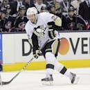 Pittsburgh Penguins' Lee Stempniak plays against the Columbus Blue Jackets during a first-round NHL playoff hockey game Monday, April 21, 2014, in Columbus, Ohio. (AP Photo/Jay LaPrete)