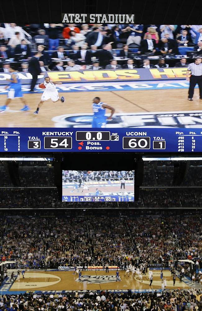 NCAA sets attendance record at Final Four